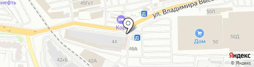 Печной супермаркет на карте Екатеринбурга