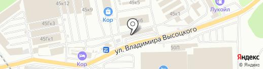 Столовая №6 на карте Екатеринбурга