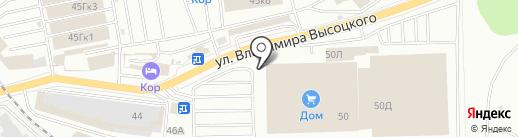 Магазин по продаже DVD-дисков на карте Екатеринбурга