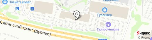 Студия мебели под старину на карте Екатеринбурга