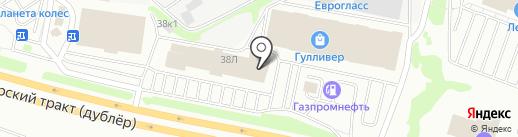 FESTIVITY group на карте Екатеринбурга