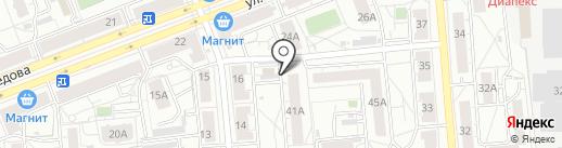 Агрокомплекс Горноуральский на карте Екатеринбурга