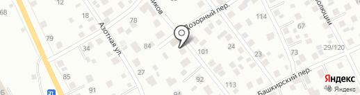Автосервис на Тружеников на карте Екатеринбурга
