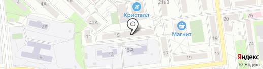 Косарева 15, ТСН на карте Екатеринбурга