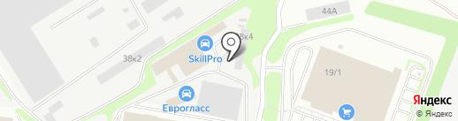 Урал Канат на карте Екатеринбурга