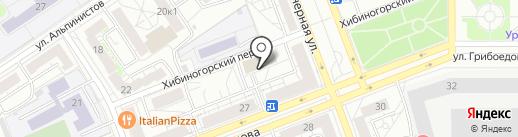 Авокадо на карте Екатеринбурга