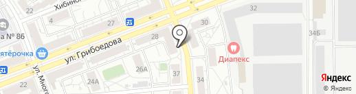 Магазин бижутерии и товаров для здоровья на карте Екатеринбурга