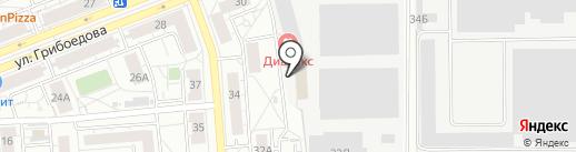 Двери в дом на карте Екатеринбурга