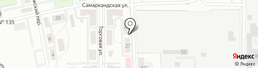 Кунг-Фу Панда на карте Екатеринбурга