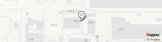 ЖБИСтрой на карте Екатеринбурга
