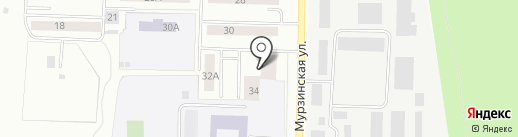ЖЭУ №4 на карте Екатеринбурга
