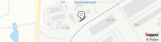 Велда на карте Берёзовского
