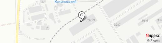 РЕГИОНСТРОЙ на карте Берёзовского