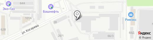 Байкал-Сервис на карте Екатеринбурга