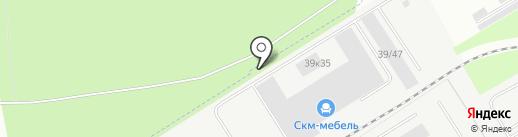 СКМ-МЕБЕЛЬ на карте Берёзовского