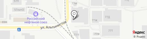 АВС-Маркет на карте Екатеринбурга
