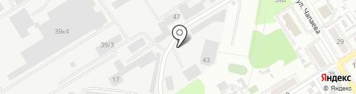 Металл Монтаж Строй на карте Берёзовского
