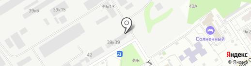 Бохемит на карте Берёзовского