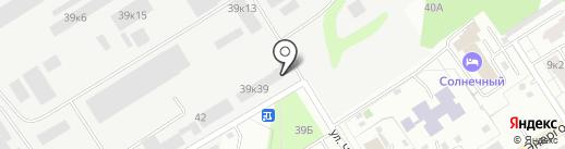 Свай-Мастер66 на карте Берёзовского