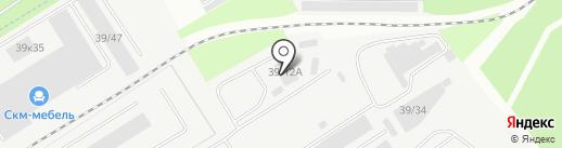 Фурнилюкс на карте Берёзовского