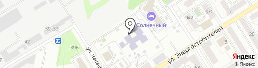 Детский сад №40 на карте Берёзовского