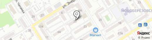 Уральский банк Сбербанка России на карте Берёзовского