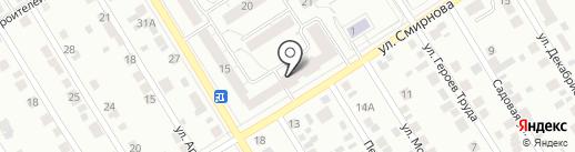 Милбот на карте Берёзовского
