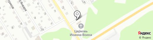 Церковная лавка на Берёзовском тракте на карте Берёзовского