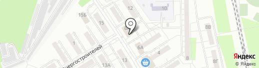 Сеть киосков по продаже фруктов и овощей на карте Берёзовского