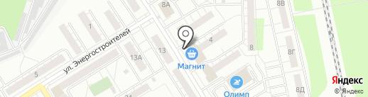 Киоск по продаже мороженого на карте Берёзовского