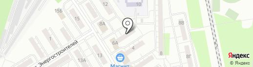 Уютный дом на карте Берёзовского