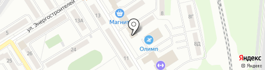 Птица на карте Берёзовского