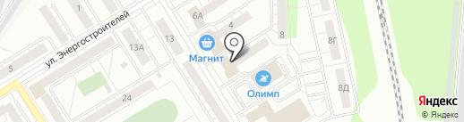 Евросеть на карте Берёзовского