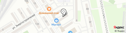 Магнит на карте Берёзовского