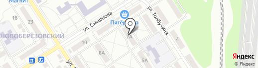 Стиль на карте Берёзовского