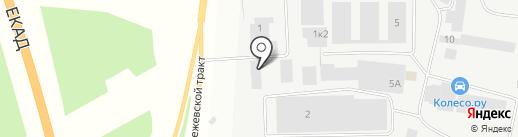 Даф-центр на карте Берёзовского