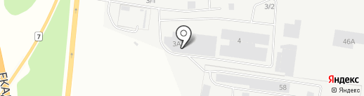 Айдиго на карте Берёзовского