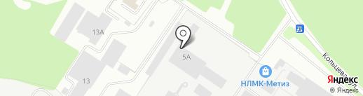 Seven Miles на карте Берёзовского