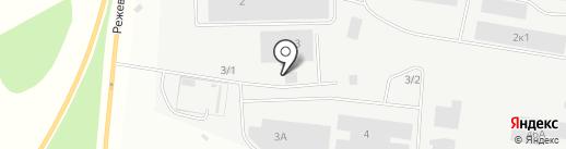 АкваЦентр на карте Берёзовского