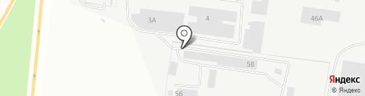 Транс-Авто на карте Берёзовского