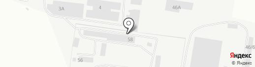 Спутник на карте Берёзовского