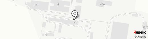 Самэкс на карте Берёзовского
