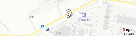 Союзшина-сервис на карте Берёзовского