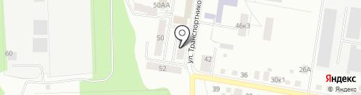 Уральская метелица на карте Берёзовского