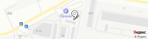 Айрон на карте Берёзовского