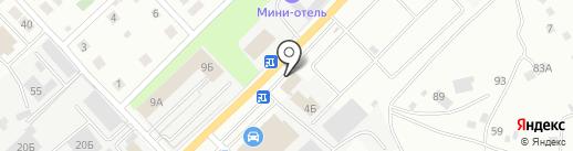 Кристалл Моторс на карте Берёзовского