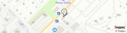 НАДЕЖНОЕ АВТО на карте Берёзовского