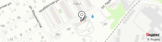 БЗМК на карте Берёзовского