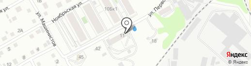 Металлгрупп на карте Берёзовского