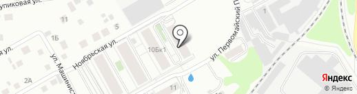 Огонёк на карте Берёзовского